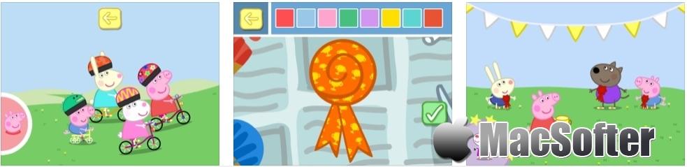 [iPhone/iPad限免] 小猪佩奇: 运动会 - 小猪佩奇主题的教育类游戏 iOS限免 第2张