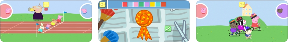 [iPhone/iPad限免] 小猪佩奇: 运动会 - 小猪佩奇主题的教育类游戏