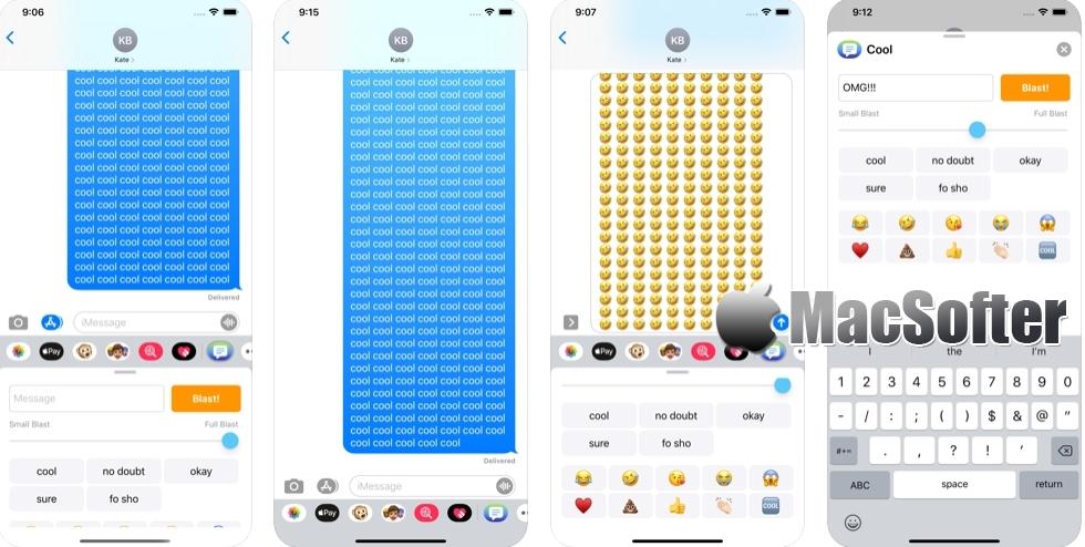 [iPhone/iPad限免] Dupe Message : 表情或文字大量重复输入发送工具