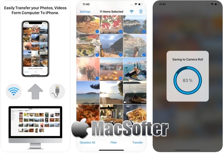 [iPhone限免] Rollit :方便好用的照片传送软件 iOS限免 第1张