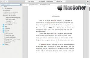 [Mac] Storyist : 高效的写作软件