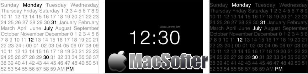 [iPhone/iPad限免] CLCK : 极简风格的时钟软件