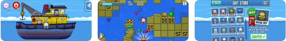[iPhone/iPad限免] Deep Loot : 像素风格深海寻宝游戏