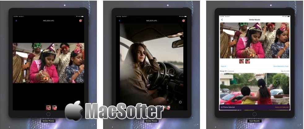 [iPhone/iPad限免] Duplicate Photos Sweeper :重复照片扫描清理工具