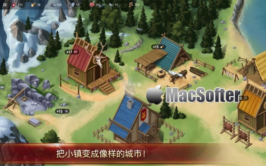 [Mac] Chronicles Of Vinland(文兰史记):模拟经营游戏 Mac游戏 第1张