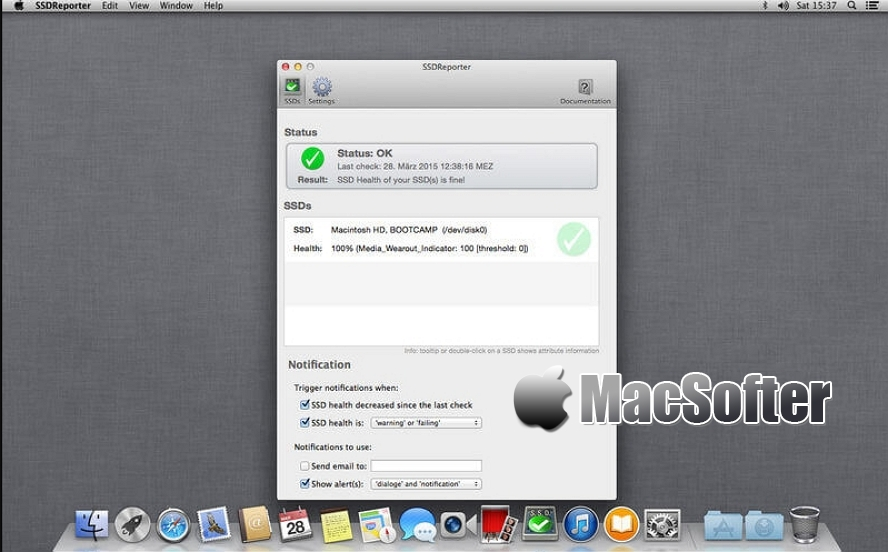 [Mac] SSDReporter : SSD固态硬盘检测工具 Mac辅助工具 第1张