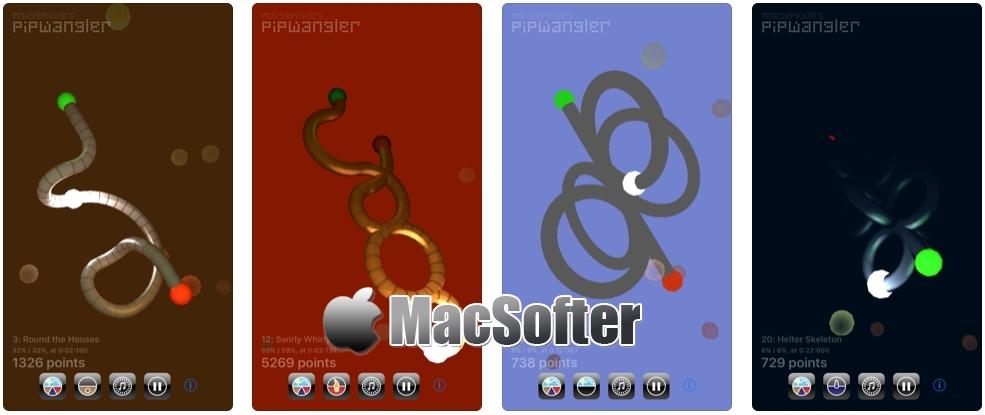 [iPhone/iPad限免] Pip Wangler : 3D益智游戏 iOS限免 第1张