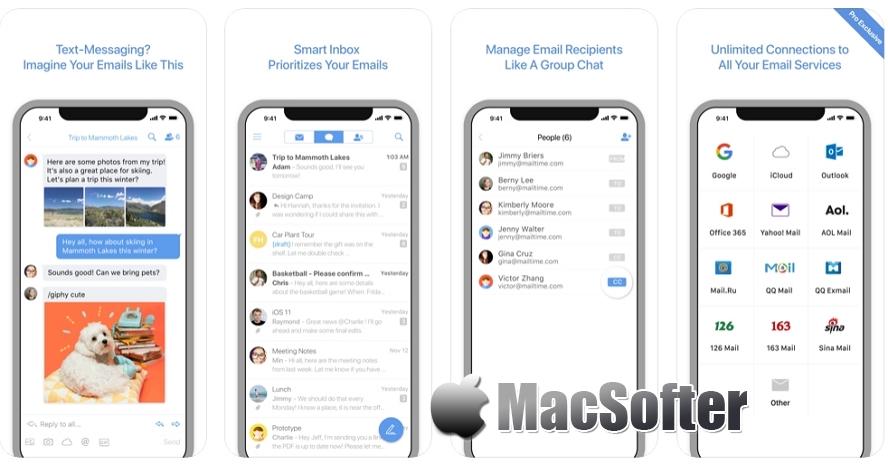 [iPhone限免] 简信Pro : 短信式邮件收发工具 iOS限免 第1张