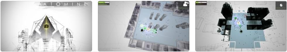 [iPhone/iPad限免] ATOMINE : RogueLike元素的虚拟世界射击游戏