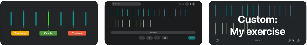 [iPhone/iPad限免] Ticking : 鼓乐器节奏训练工具