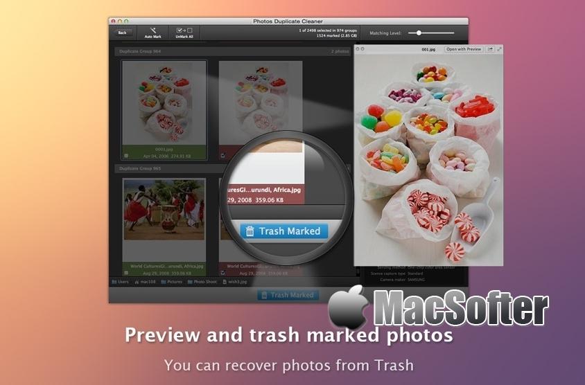 [Mac] Photos Duplicate Cleaner : 重复照片清理工具 Mac生产力工具 第1张