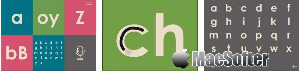 [iPhone/iPad限免] 字母简介 : 蒙台梭利法英语学习软件