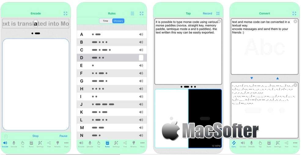 [iPhone/iPad限免] Morse-It :摩斯密码学习软件