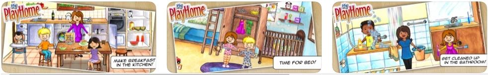 [iPhone/iPad限免] 娃娃屋 - My PlayHome : 儿童家庭生活体验游戏