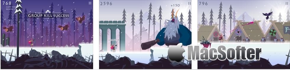 [iPhone/iPad限免] Vikings: an Archer's Journey : 结合射击的跑酷游戏