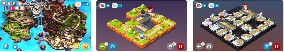 [iPhone/iPad限免] PepeLine : 3D益智游戏