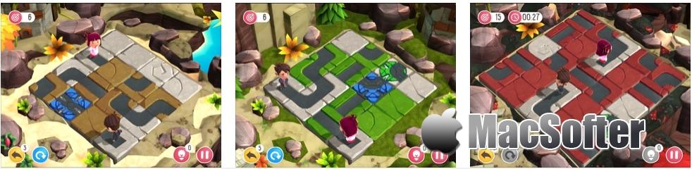 [iPhone/iPad限免] PepeLine Adventures :冒险3D益智游戏