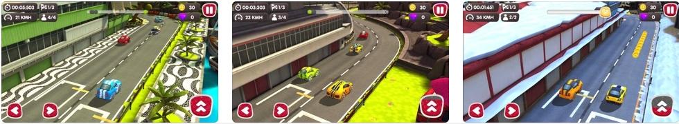 [iPhone/iPad限免] Turbo Wheels : 涡轮极速赛车游戏