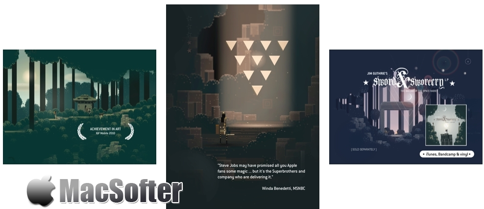 [iPhone/iPad限免] Superbrothers: Sword & Sworcery EP - 高质像素风冒险游戏