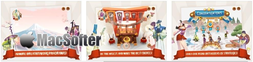 [iPhone/iPad限免] Tokaido : 东海道桌游游戏