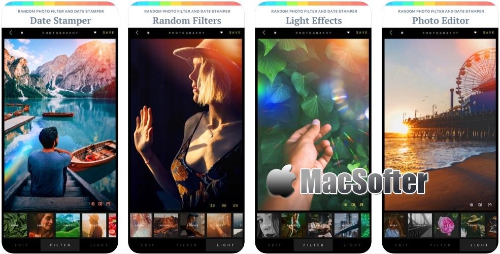 [iPhone/iPad限免] Picture Roulette : 照片滤镜特效处理工具 iOS限免 第1张