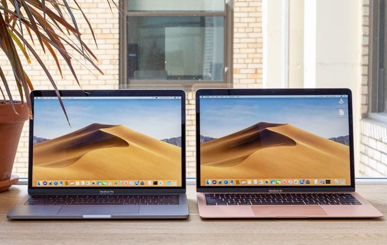MacBook Air 2020版性能与MacBook Pro 2017版持平