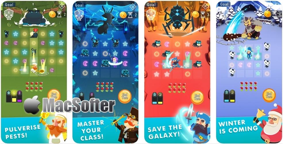 [iPhone/iPad限免] Starbeard :结合RPG元素的星座配对消除游戏 iOS限免 第1张