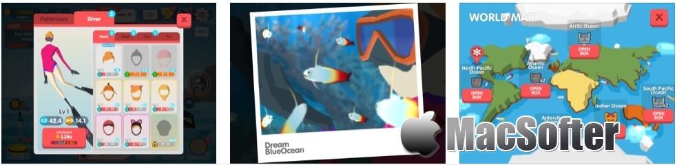 [iPhone/iPad限免] Dream Blue Ocean : 海洋动物主题休闲游戏