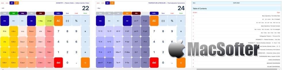 [iPhone/iPad限免] SciPro Math :强大的多功能科学计算器 iOS限免 第2张