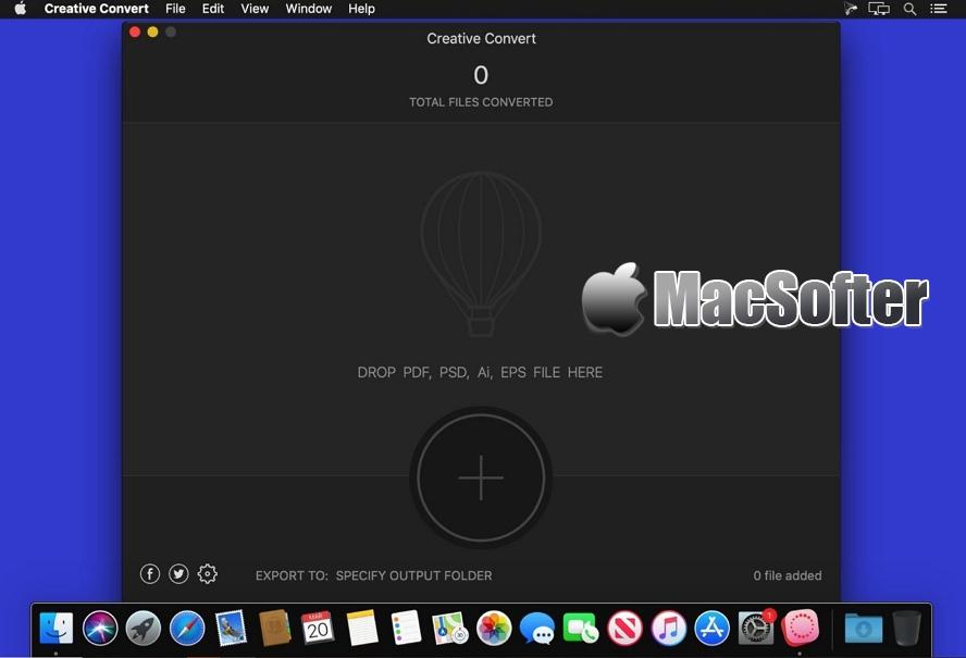 [Mac] Creative Convert : PDF/Ai/PSD/EPS格式转换器