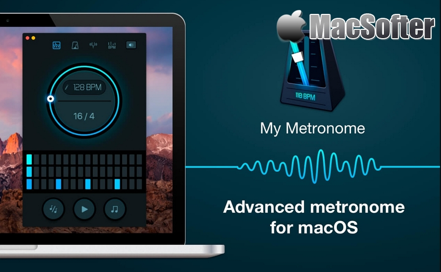 [Mac] My Metronome :音乐节拍器软件