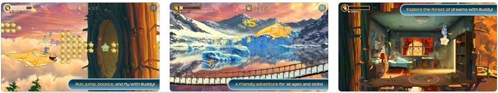 [iPhone/iPad限免] Buddy & Me: Dream Edition - 横版奇幻冒险跳跃游戏