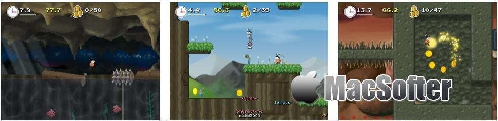 [iPhone/iPad限免] Mos Speedrun 2(莫斯快跑2) : 横版冒险闯关游戏 iOS限免 第2张