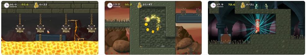 [iPhone/iPad限免] Mos Speedrun 2(莫斯快跑2) : 横版冒险闯关游戏