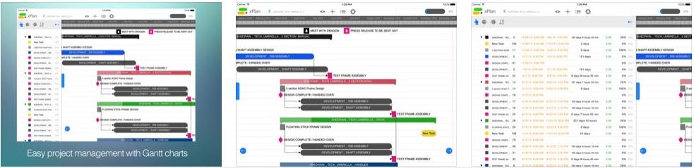 [iPad限免] xPlan : 好用的项目管理软件