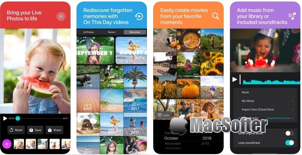 [iPhone/iPad限免] Snapthread : Live Photos制作视频小短片的工具 iOS限免 第1张