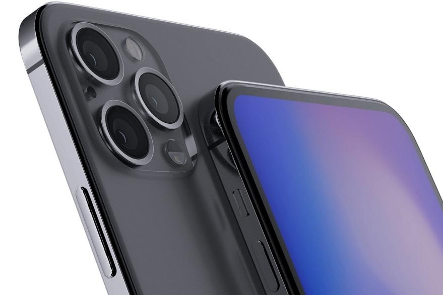疑似苹果官网图流出 :iPhone 12可能去掉了刘海