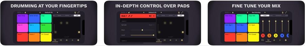 [iPhone/iPad限免] SDS-x : 超丰富音效击鼓打击乐音乐软件