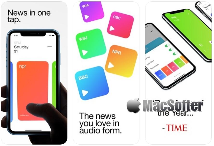 [iPhone限免] Funnel :随时随地收听世界新闻 iOS限免 第1张