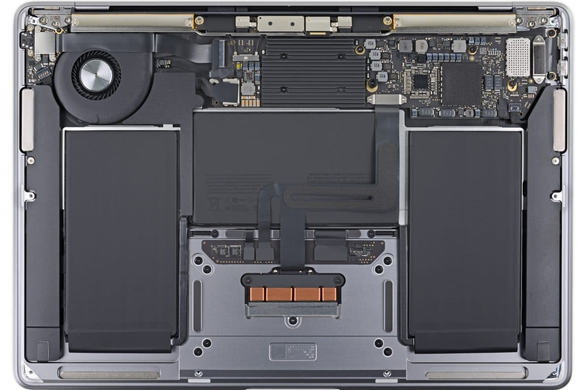 iFixit拆解MacBook Air 2020:维修更容易但SSD和RAM依旧焊死