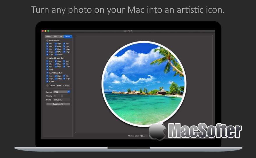 [Mac] Icon Plus :Logo图标设计工具