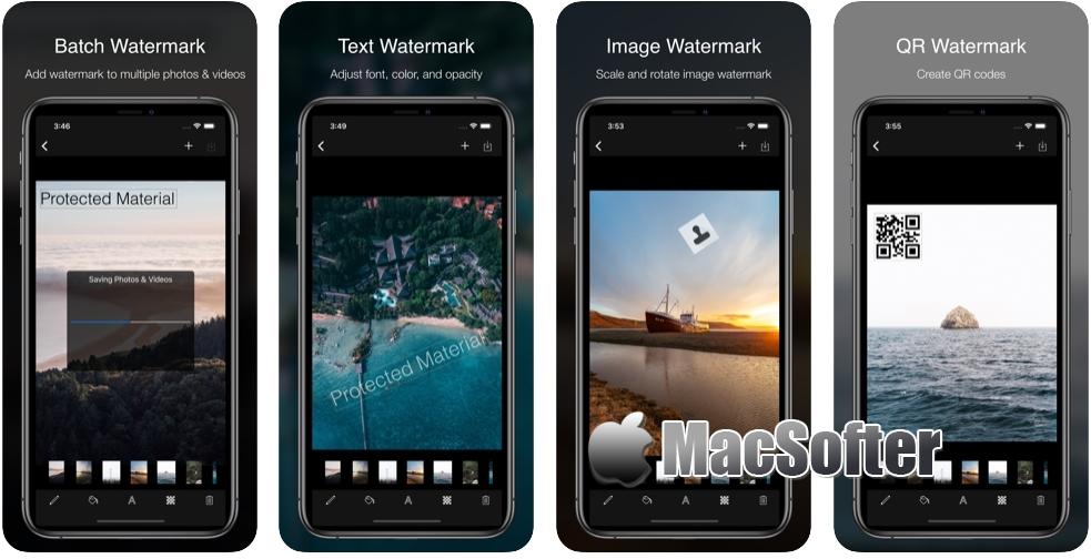 [iPhone/iPad限免] Ray Watermark : 照片视频水印工具