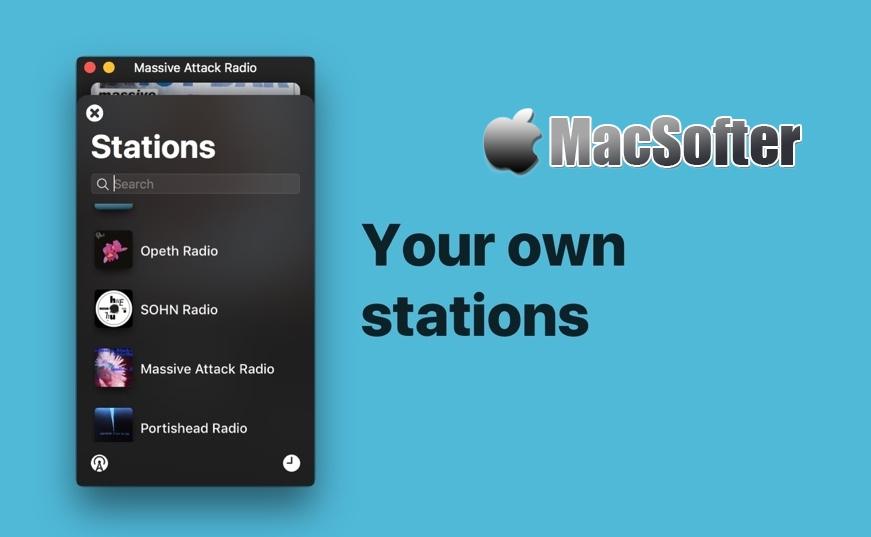 [Mac] Anesidora : Pandora电台客户端