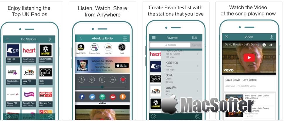 [iPhone/iPad限免] iRadio UK Pro : 英国网络电台收音机软件