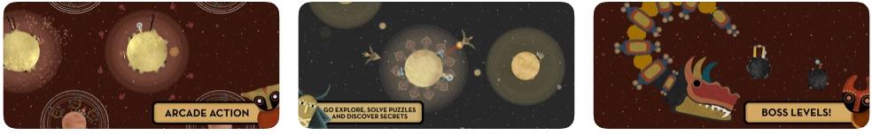 [iPhone/iPad限免] 阿斯特拉 : 曙光女神的宇宙冒险游戏