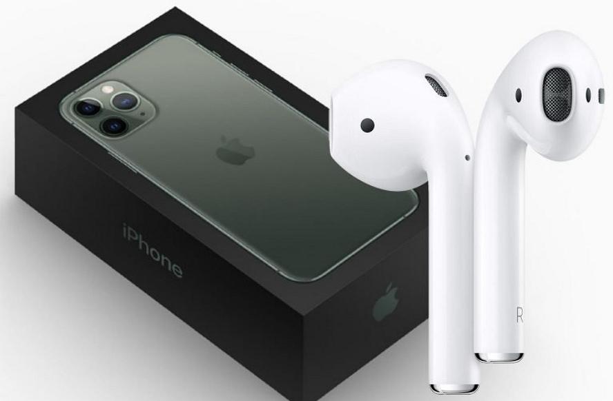 今年购买iPhone 12会随机附赠AirPods吗?