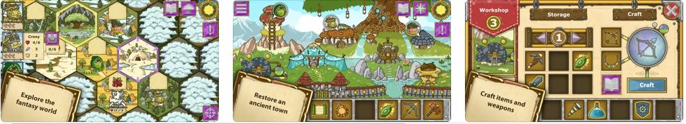 [iPhone/iPad限免] Griblers(蛮荒冒险家) : 回合制策略与RPG的游戏