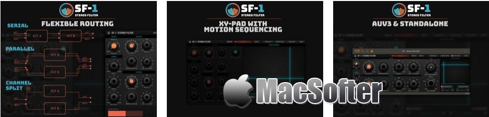 [iPad限免] SF-1 Stereo Filter :双重立体声声音效果器