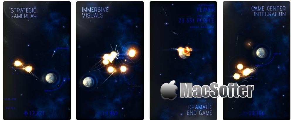 [iPhone/iPad限免] Eve of Impact : 节奏紧凑的点击防御游戏