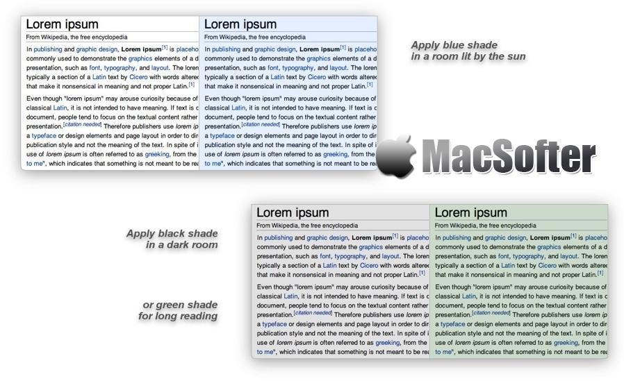 [Mac] Simple Screen Shade : 简单方便的屏幕亮度工具